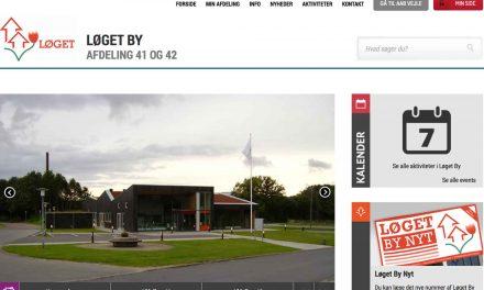 Ny flot afdelingshjemmeside til afdeling 41 og 42 i AAB Vejle