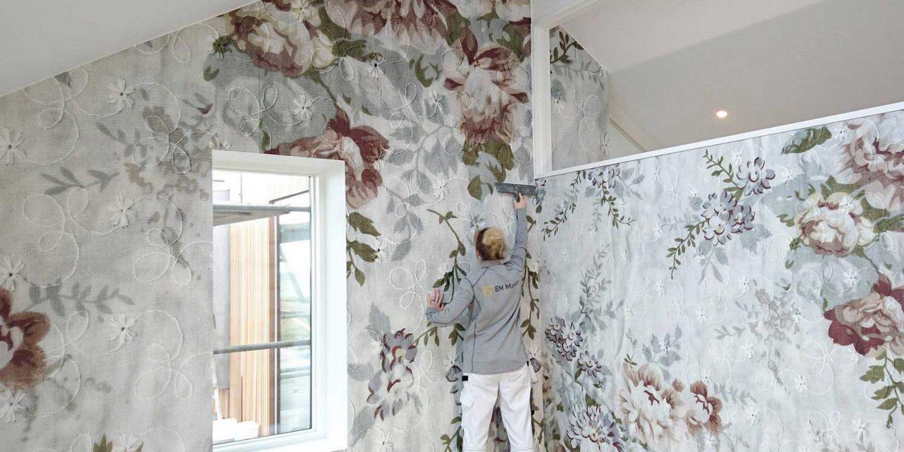 Tapetsering giver smukke vægge