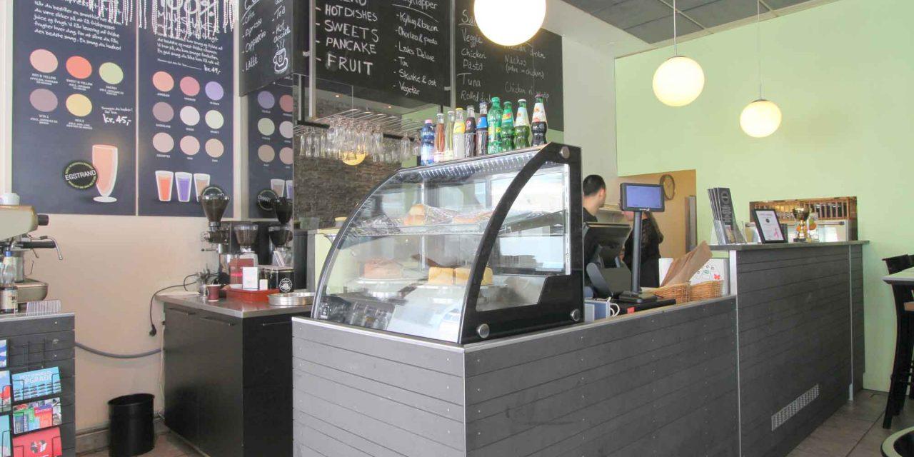 Café Egstrand kommunikationsplan