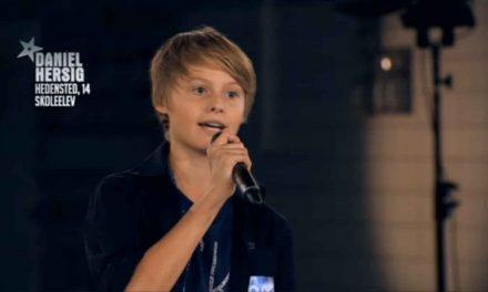 Daniel videre til liveshows i Danmark har Talent