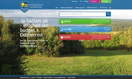 Ny hjemmeside til Odsherred Kommune