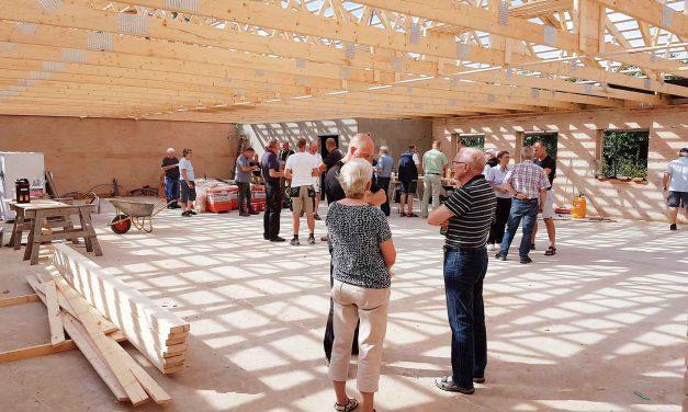 Silkeborg Skyttekreds bygger nyt skyttehus