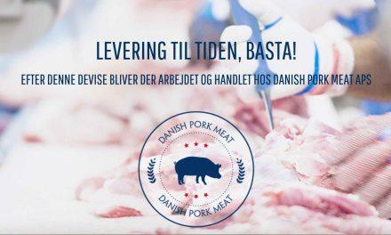 TekniClean skal gøre rent hos Danish Pork Meat