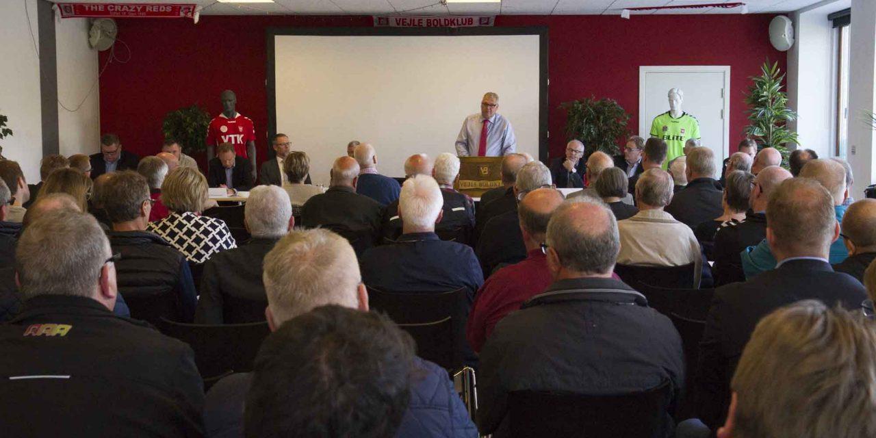 Klar tale på Vejle Boldklubs generalforsamling