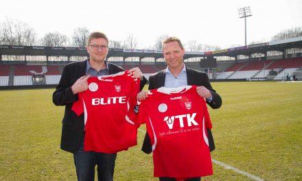 VTK og BLITE er nye hovedsponsorer i Vejle Boldklub