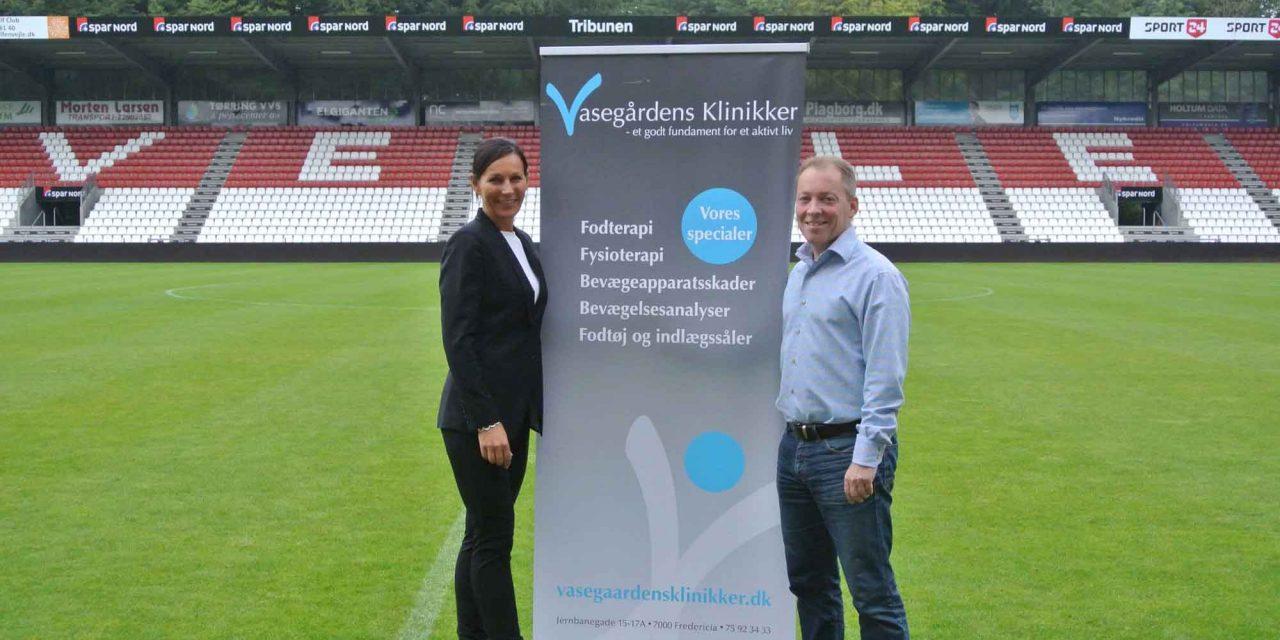 Vasegårdens Klinikker åbner satellitfunktion på Vejle Stadion