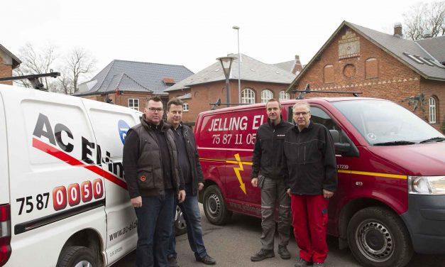 AC El-Installation køber Jelling Elforretning