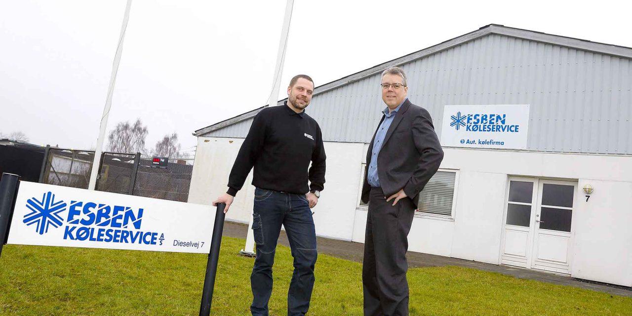 Carrier Refrigeration køber Esben Køleservice