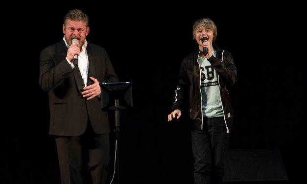 """Daniel sang med Stig Rossen til """"Mærke"""" Festival 2015"""