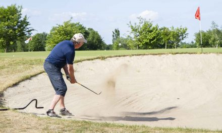 Glade golfspillere fejrede 25 års golf i Give
