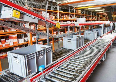Branche Intern logistik