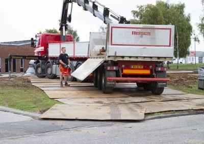 Køreplader - Knud Gade - Byggeplads Vinding_0001