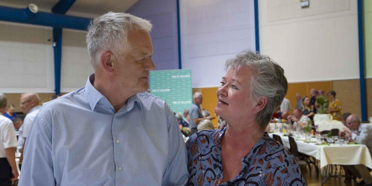 Et flot farvel til Vesterlund Efterskoles forstanderpar