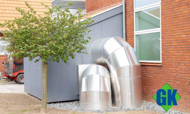 Trykstyret ventilationsanlæg giver sundt indeklima i nyt fællesområde