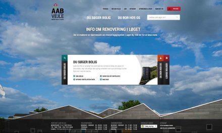 Ny hjemmeside til AAB Vejle