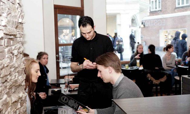 Café Egstrand med ny visuel hjemmeside