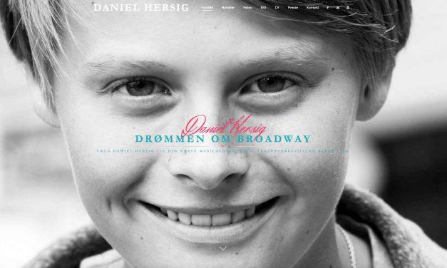 Daniel Hersig drømmer om Broadway