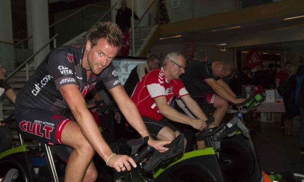 20 samarbejdspartnere cyklede 248.275 kr. ind til VB i Butikscentret Marys