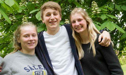 76 elever glæder sig til det vilde friluftsliv i Norge