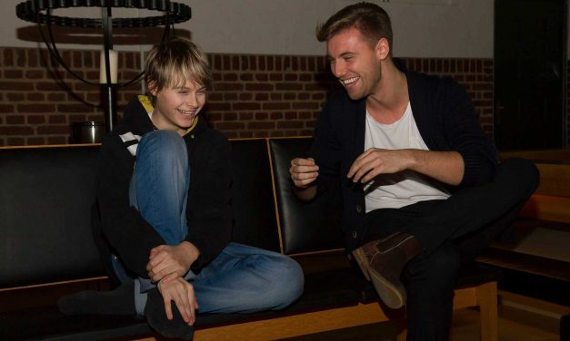 Mathias Aaen Thuesen coacher Daniel Hersig fra Danmark har talent