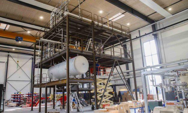 BSB Industry producerer ståltårn til procesanlæg