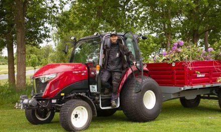 Yanmar kompakttraktor gør arbejdet lettere for greenkeeperne i Juelsminde Golfklub