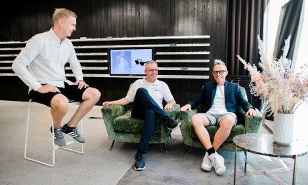 Claus og Thomas nyder holdånden og friheden hos Seerup Optics