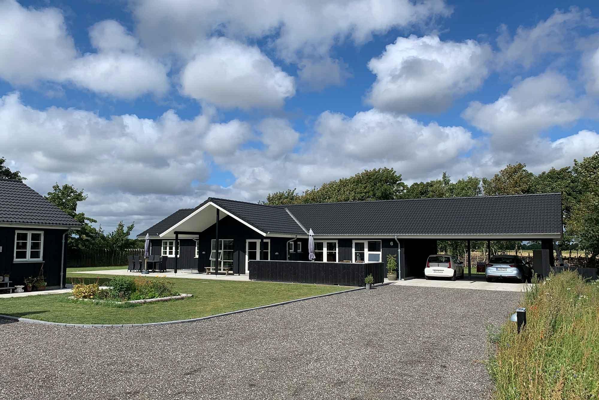 Karin og Jesper har bygget deres drømmehus